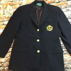 Lauren Ralph Lauren Jackets & Coats - Vintage Ralph Lauren crest blazer ,m